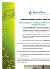 Grey Water Recycling Systems Brochure