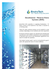 Reverse Osmosis System Brochure