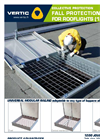 Fall Protection for Translucent Roof Elements Brochure