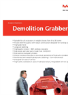 Martin - Model II - Demolition Grabber Brochure