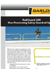 RailGuard - Model 200 - Non-Penetrating Safety Guardrail System Brochure