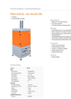 Cell - Model XL - Extraction Filter Unit Brochure