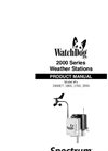 WatchDog - 2900ET - Weather Station – Manual