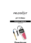 FieldScout pH 110 Meter - Datalogger - Manual