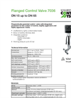 Model 7036 - Angle Seat Control Valve Brochure