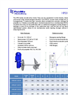 Model HPS3 Series - Industrial Agitators Brochure