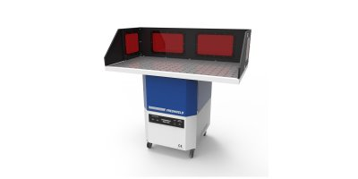 Freshweld - Model KMF/1250 Series - Downdraft Tables With Integrated Fan And Disposable Casette Filter