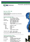 EVAC - Pneumatic Operated Butterfly Valve - Brochure