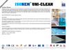 ISONEM - Model UNI-CLEAN - Surface Cleaner - Brochure