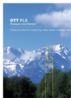 Stevens - Model OTT PLS - Pressure Transducer with Integrated Logger - Datasheet