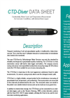 Van Essen Instruments - Model CTD-Diver - Pressure Transducer with Integrated Logger - Datasheet