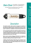 Van Essen Instruments - Model Baro-Diver - Pressure Transducer with Integrated Logger - Datasheet