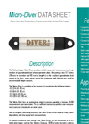 Van Essen Instruments - Model Micro-Diver - Pressure Transducer with Integrated Logger - Datasheet