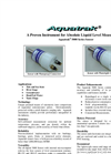 AquaTrak - 5000 - Absolute Liquid Level Sensor - Datasheet