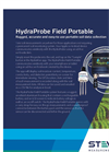 HydraProbe - Field Portable Wireless Sensor-to-Smartphone Interface - Datasheet