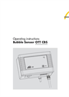 OTT - CBS - Bubble Sensor - Operating Instructions Manual