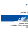 The Vaisala HUMICAP - Model HMP155  - Humidity and Temperature Probe - User Manual