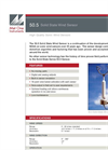 Stevens Met One - Model 50.5 - Ultrasonic Wind Speed/Direction Sensor - Brochure