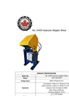 Model ML-1040D - Alligator Shear Brochure