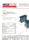 Granular Activated Carbon Filter - Brochure