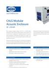 CALG - Model 50 – 218 kVA - Modular Acoustic Enclosure Brochure