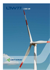 Model LTW77 1500 KW - Wind Turbine Brochure