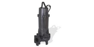 EBARA - Model DVSU, DVSHU - Submersible Cast Iron Semi-Open Vortex Sewage Pump