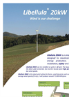 Libellula - Model 20 kW - Small Wind Turbine Datasheet