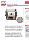 Geosense - Model MEMS - Portable Tilt Meter Brochure