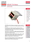 Geosense - Model MEMS - Digital In-Place Tilt Meter Brochure
