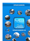 SprayCannon - Model 10 - Dust Suppression and Ventilation Machine - Datasheet