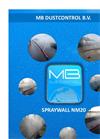 SprayWall - Model NM20 - Weigh Down and Control Dust Emissions Datasheet