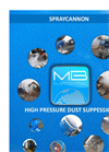 High Pressure Dust Suppession Datasheet