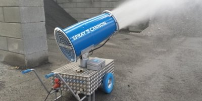 SprayCannon - Model 35 - Dust Cleaning Fog Machine