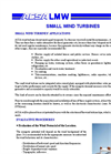 Small Wind Turbines Brochure