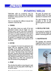 Pumping Wind Mills Brochure