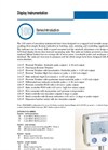 Model 100 series - Head Wall or Panel Mount Display Flow Meter Brochure