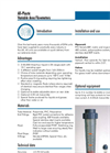 Model DFM - Plastic Variable Area Flowmeters Brochure