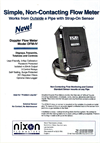 Model DFM-IV - Non-Contacting Doppler Flow Meter Brochure