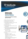 Model SC250 - Metal Tube Variable Area Flowmeter Brochure