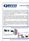 QTech - Solution - WP2P - Industrial Chemical Site