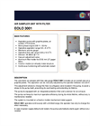 EOLO - Model 3001 - Air Sampler Unit Brochure