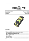 Sarad - Model DOSEman PRO - Radon Daughter Product Dosimeter - Manual