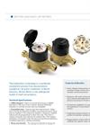 Bottom load Multi-Jet Meters Datasheet