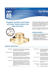 Hot Water Meter Datasheet