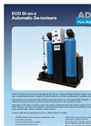 ADEPT - Model ECO Di-on-x - Automatic Water Deioniser Datasheet
