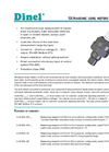 Model DLM-35 - Capacitive Level Meters Brochure