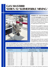 MASTRRR - Series 32 - Submersible Vacuum Gas Or Liquid Chemical Mixer Brochure