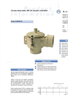 Model DN 40 - 2/2-Way Vacuum Controlled Direct Acting Drain Valve - Brochure