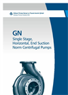 Model GN - Single Stage End-Suction Norm Pumps Brochure